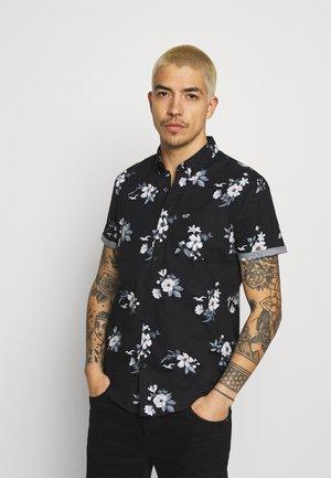 Shirt - black floral