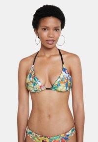 Desigual - FLORIDA - Bikini top - green - 0