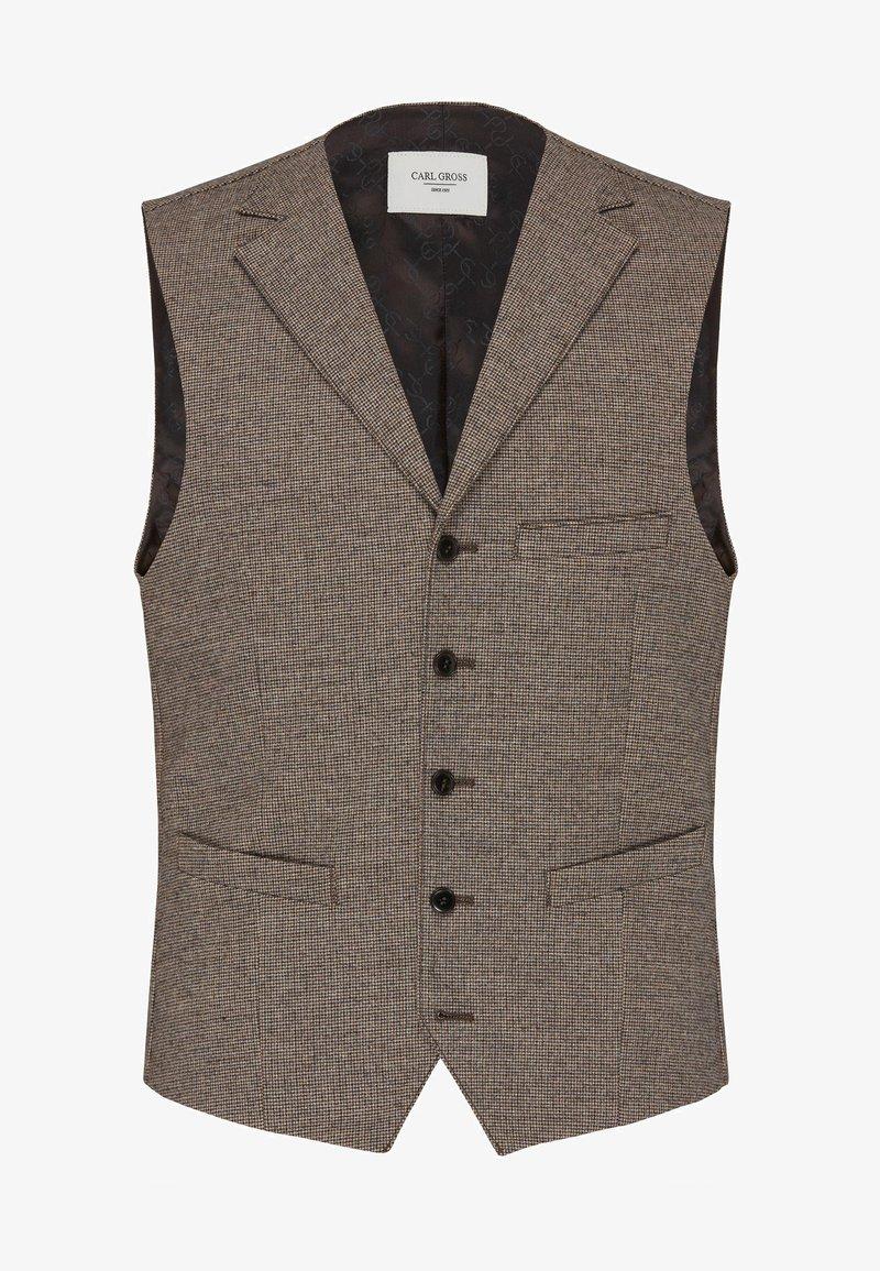 Carl Gross - Suit waistcoat - beige