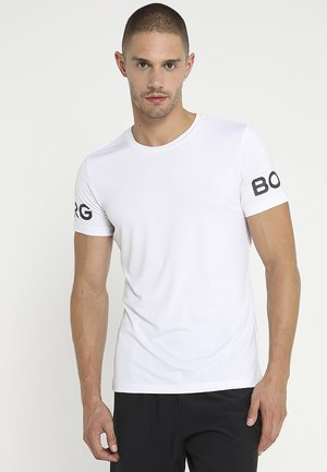 TEE - Print T-shirt - brilliant white