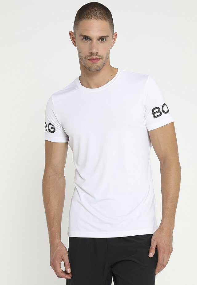 TEE - T-shirts med print - brilliant white
