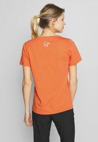 Norrøna - LEGACY - T-shirts med print - flamingo - 2