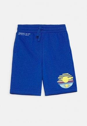 BOY LOGO  - Teplákové kalhoty - admiral blue