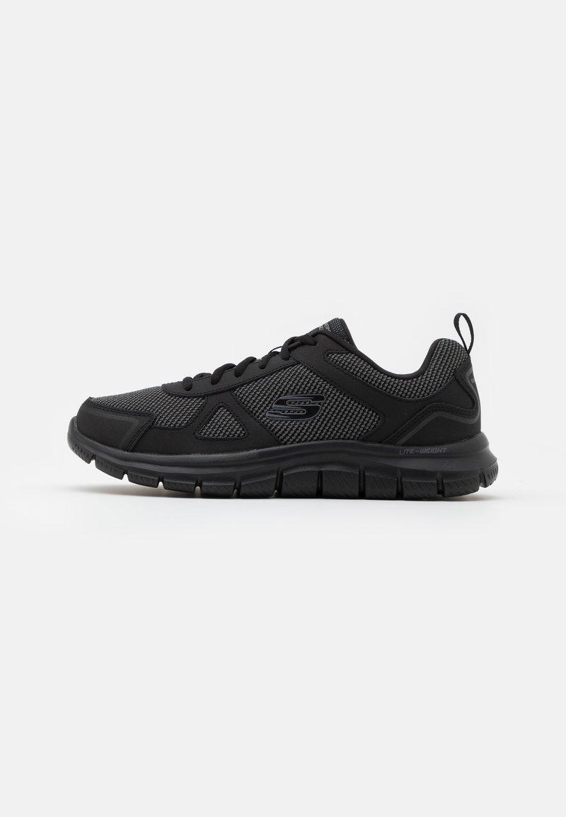 Skechers Wide Fit - TRACK BUCOLO - Sneaker low - black