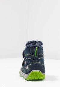 Lurchi - JAUFEN TEX - Winter boots - navy/green - 4