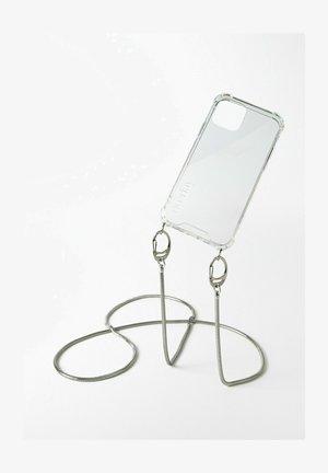 SAMSUNG GALAXY S21 - SNAKE CHAIN SILBER HANDYKETTE - Other accessories - silberfarben