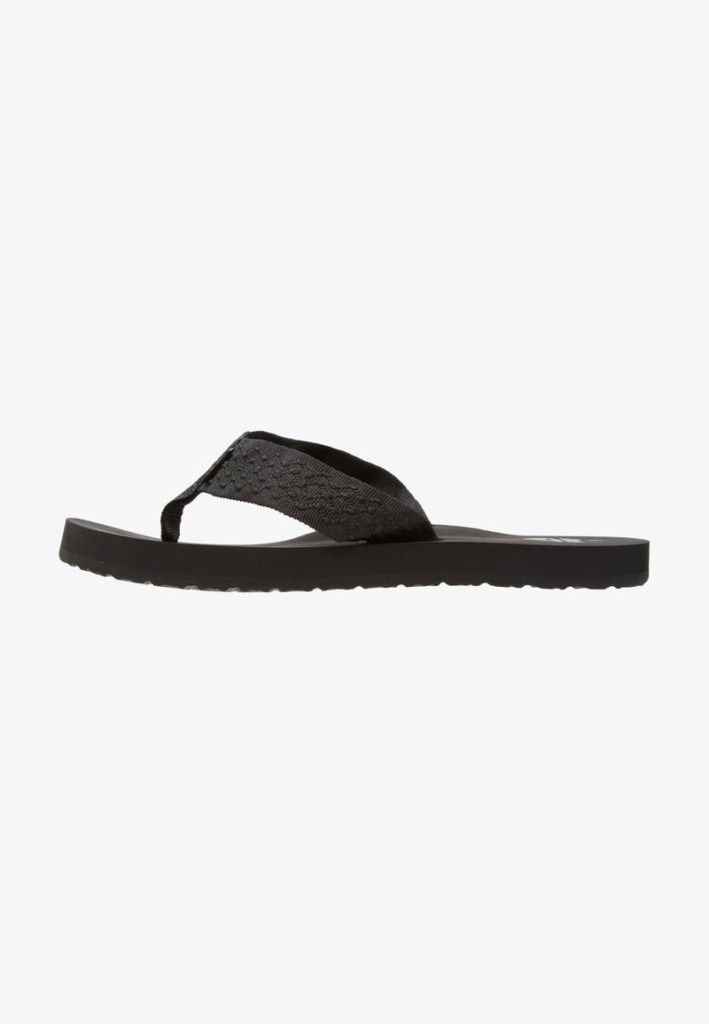Reef - SMOOTHY - Sandaler m/ tåsplit - black