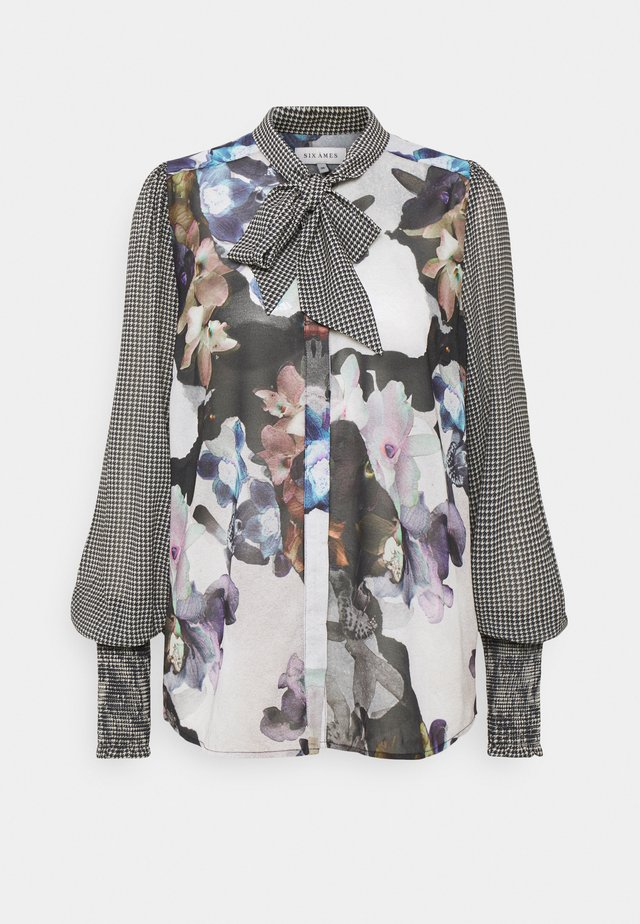 QUINN - Button-down blouse - winterflower