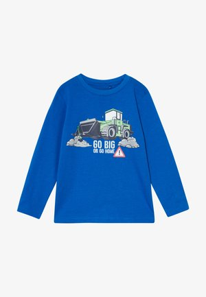 KIDS TRACTOR - Longsleeve - royal original