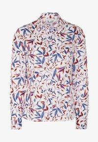 Eterna - MODERN CLASSIC - Button-down blouse - blue/saffron/white - 4