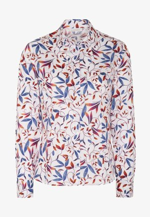 MODERN CLASSIC - Button-down blouse - blue/saffron/white