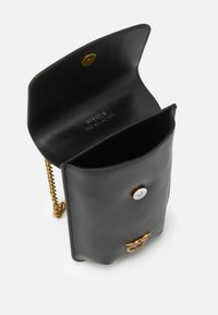 Pinko - IXIA PHONE HOLDER SIMPLY - Across body bag - black