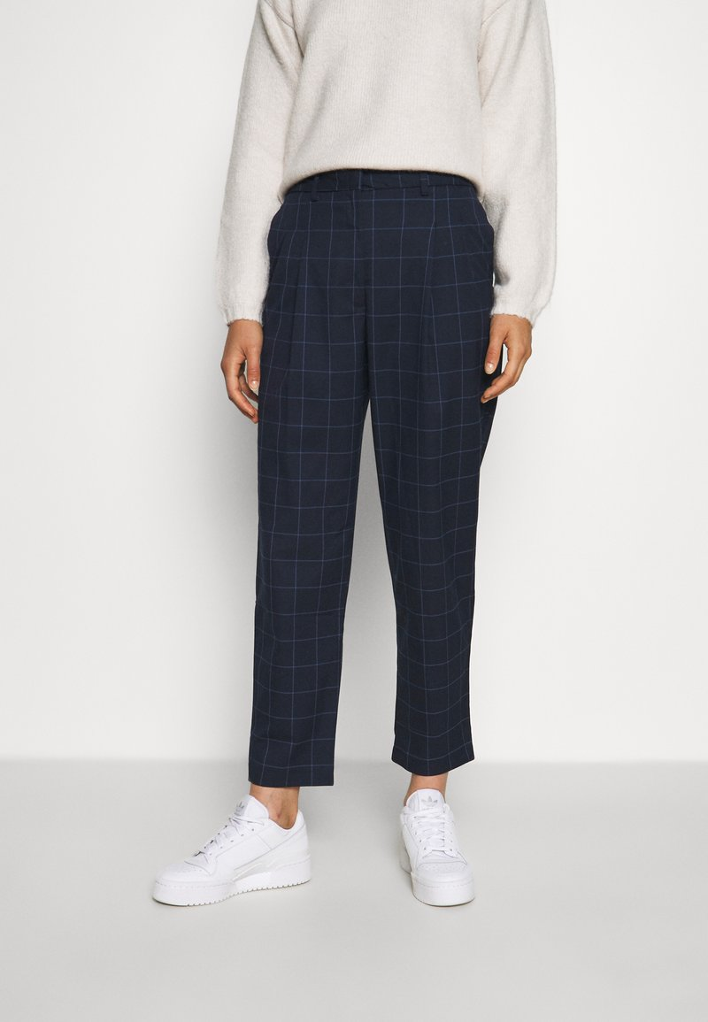 Monki - Trousers - simple grid