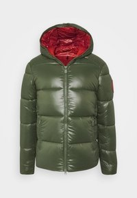 Save the duck - LUCKY - Winter jacket - thyme green - 5