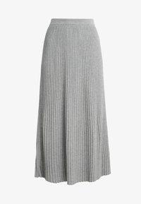WEEKEND MaxMara - SCILLA - Plisovaná sukně - hellgrau - 3