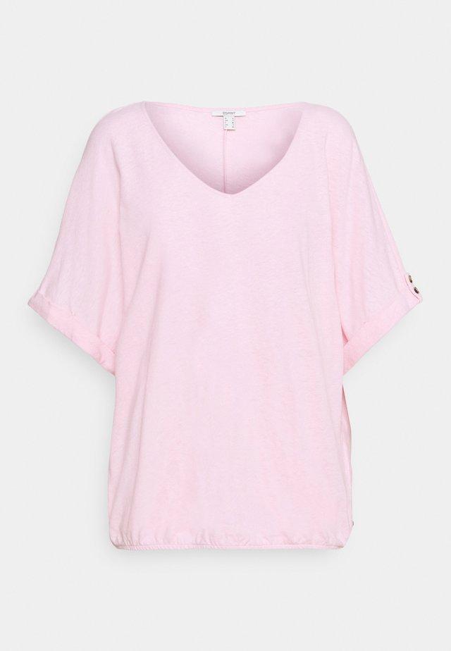 TEE - T-Shirt basic - light pink