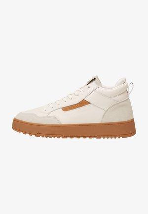 Trainers - white/cognac