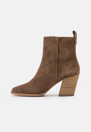 CASUAL ZIP UP BOOTIE - Classic ankle boots - river rock