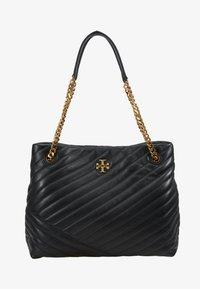 Tory Burch - KIRA CHEVRON TOTE - Handbag - black - 5