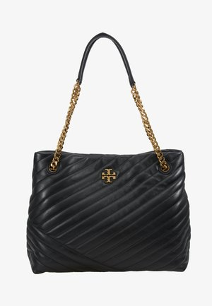 KIRA CHEVRON TOTE - Handbag - black