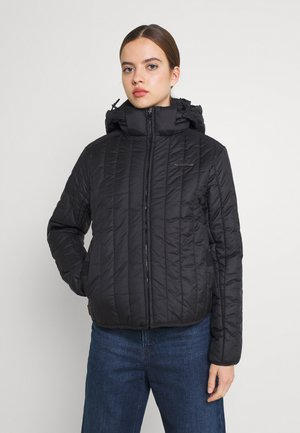 MEEFIC VERTICAL QUILTED JACKET - Winter jacket - black