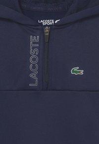 Lacoste Sport - TECH HOODY ZIP UNISEX - Mikina - navy blue - 2