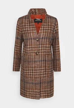 COAT - Classic coat - terracotta multicolor