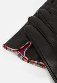 Paul Smith - GLOVE SWIRL PIPING - Gloves - black - 2