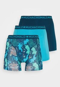 MUCHACHOMALO - PLASTIC 3 PACK - Pants - blue - 4
