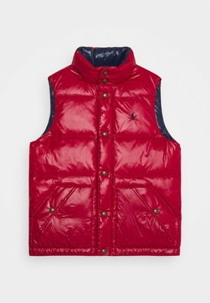 HAWTHORN OUTERWEAR VEST - Waistcoat - red