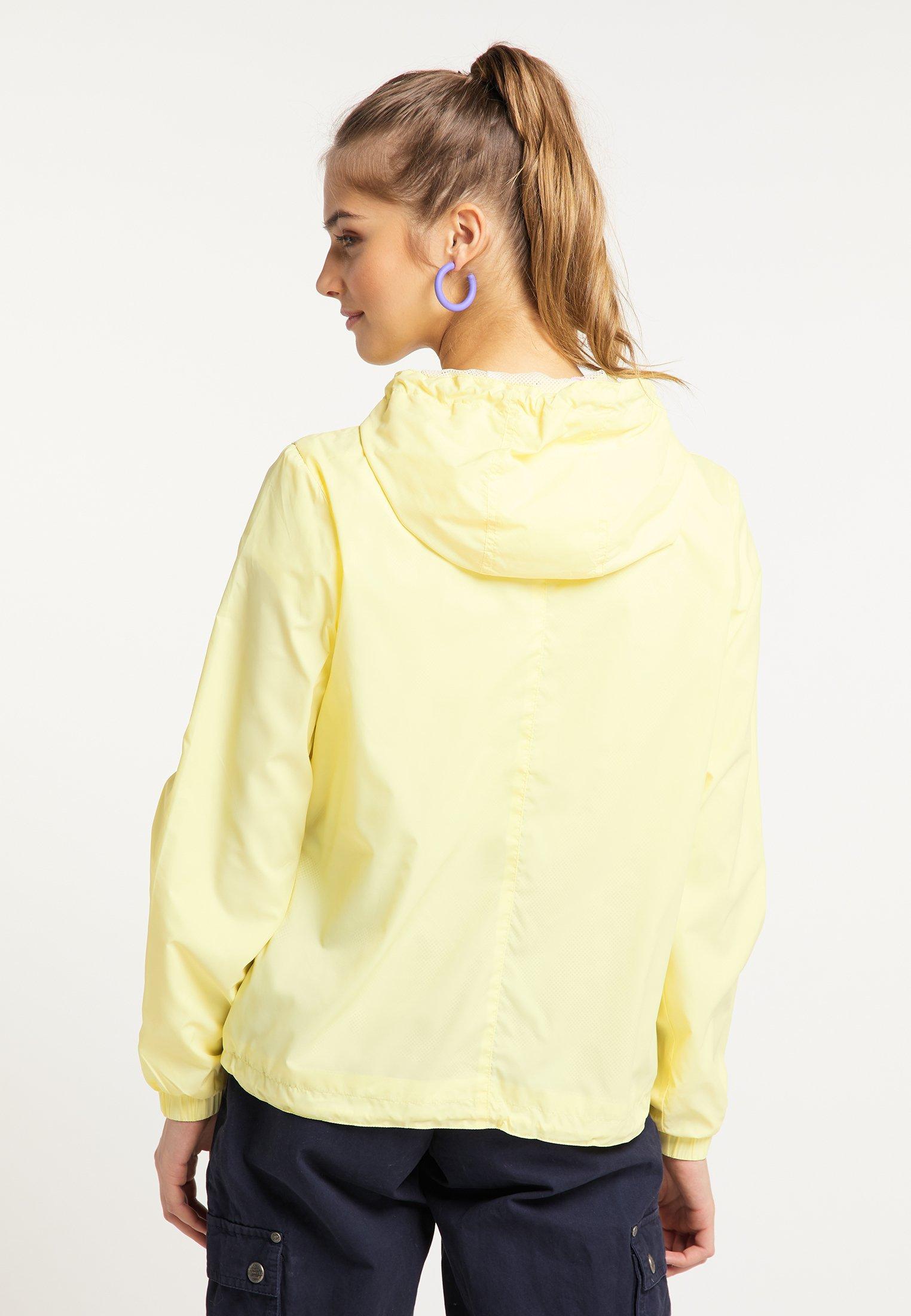 myMo Windbreaker light yellow/hellgelb