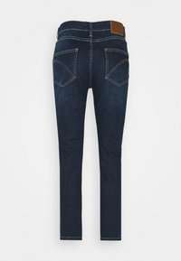 Opus - LOUIS - Jeans straight leg - dark washed blue - 6