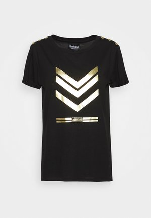 SCORPION TEE - Print T-shirt - black