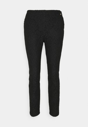 PANTALONE CIGARETTE - Trousers - nero