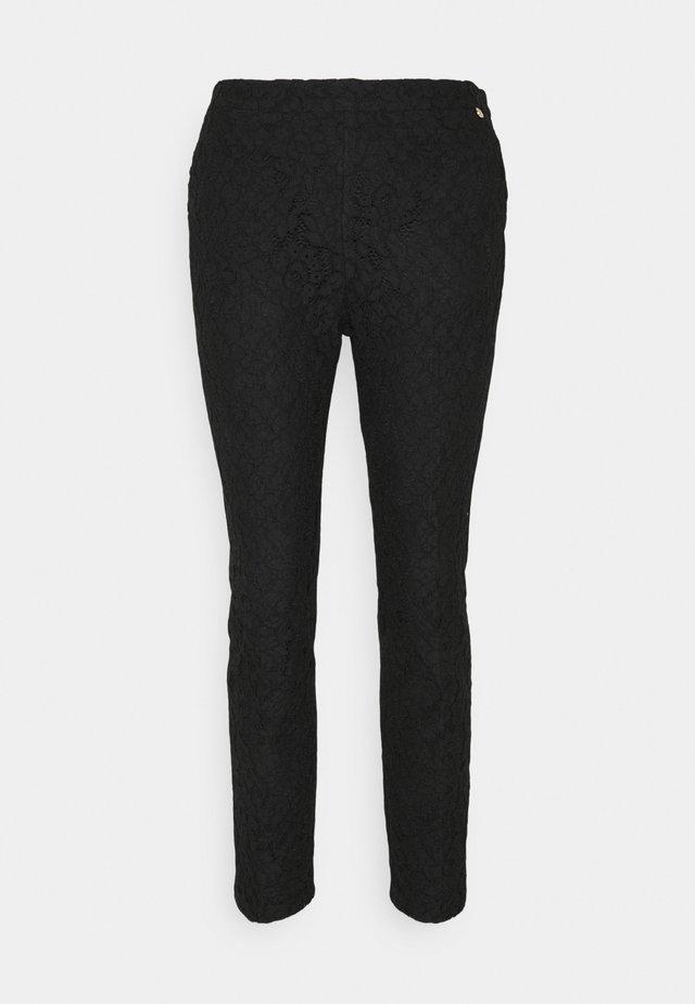 PANTALONE CIGARETTE - Trousers - nero