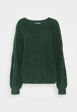 BIG CABLE - Jumper - dark green
