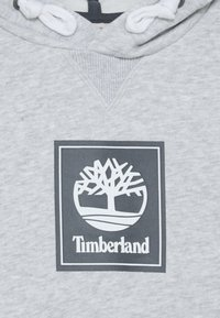 Timberland - HOODED  - Hoodie - chine grey