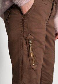 Mos Mosh - VALERINE PANT - Trousers - carafe - 3