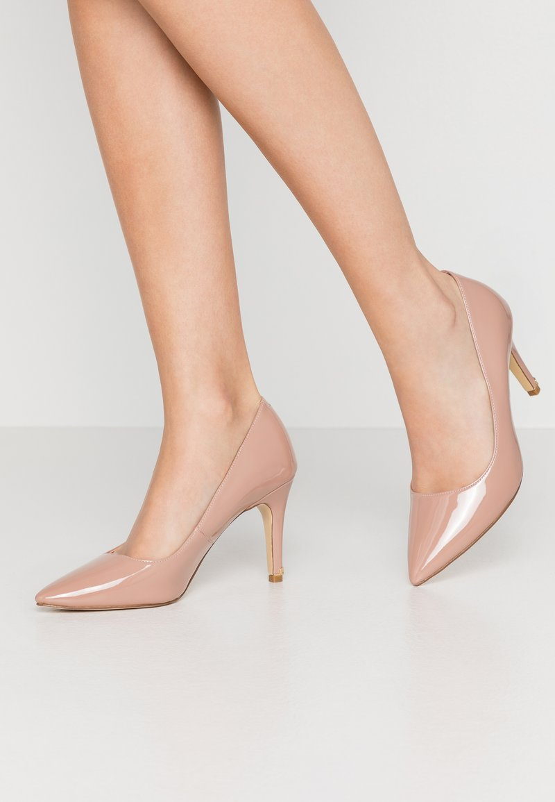 Dune London WIDE FIT - WIDE FIT ANNA - Højhælede pumps - cappuccino