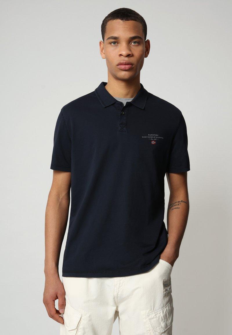 Napapijri - ELLI - Poloshirt - blu marine