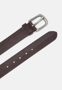 Pier One - LEATHER - Cintura - brown - 1