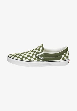 CLASSIC UNISEX - Slip-ons - grape leaf/true white