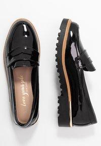 New Look - KETTLE - Mocassins - black - 3