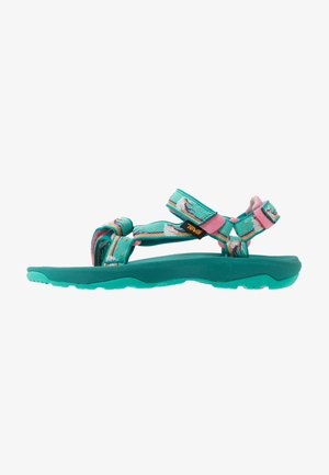 Walking sandals - turquoise