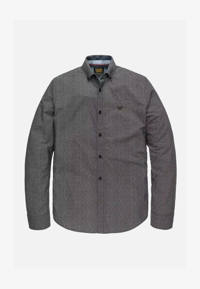 Shirt - mottled dark grey