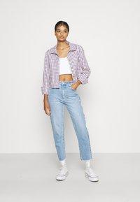Abrand Jeans - HIGH SLIM - Jeans slim fit - olivia eco - 1