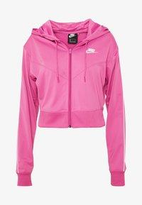 Nike Sportswear - HOODIE - Training jacket - cosmic fuchsia / white - 4