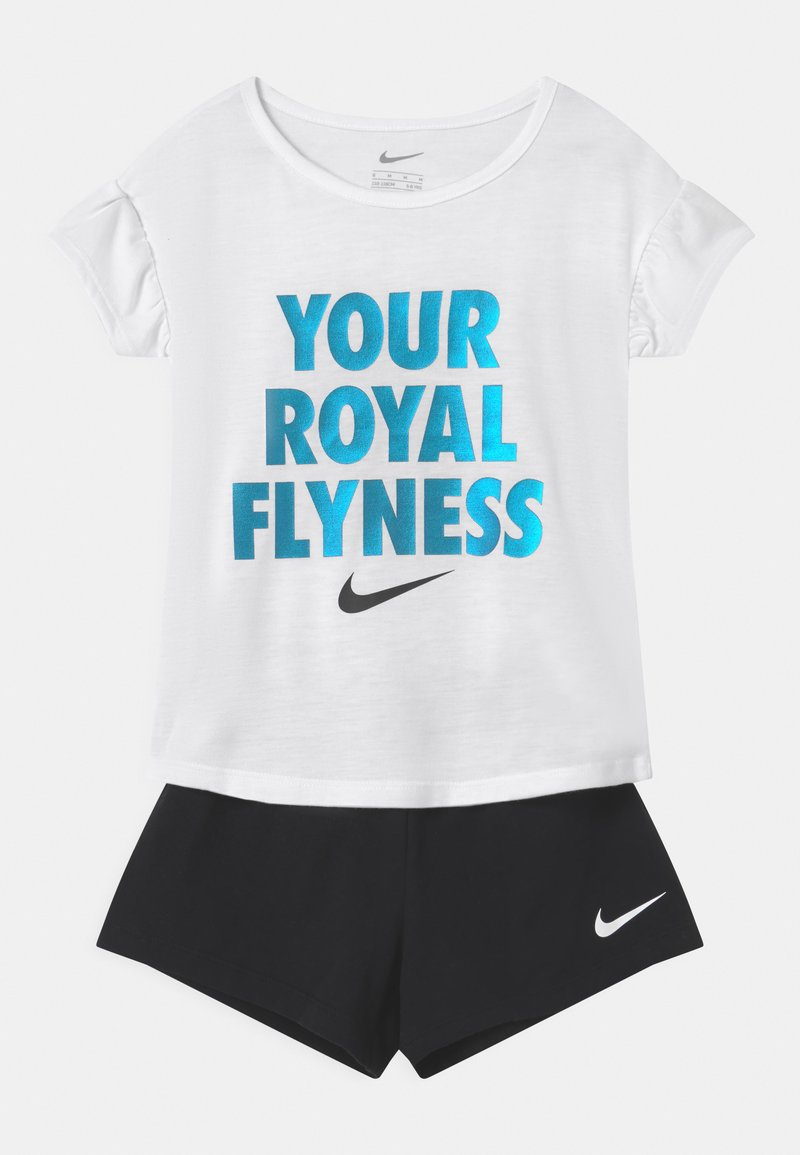 Nike Sportswear - LIL BUGS BUTTERFLY SET - T-shirt z nadrukiem - black