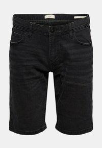 edc by Esprit - Denim shorts - black dark washed - 8