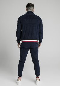 SIKSILK - INVERSE HIGH NECK - Sweater - navy/red/white - 2